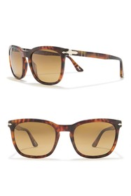 Persol 55mm Polarized Square Sunglasses