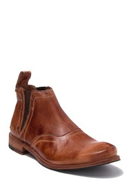 Bed|Stu Prato Leather Chelsea Boot