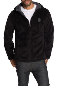 SPYDER Musa Fleece Lined Faux Fur Zip Hoodie