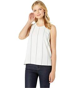Vince Camuto Sleeveless Striped Sportswear Mix Med