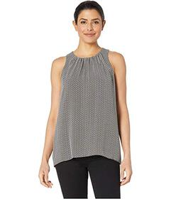 Vince Camuto Sleeveless Sahara Muses Blouse