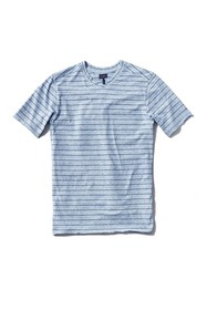 Good Man Brand V-Neck Jersey Stripe Print T-Shirt