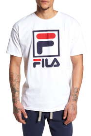 FILA USA Stacked Logo T-Shirt