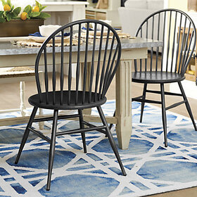 Wexford Metal Windsor Dining Chair - Set of 2