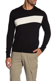 ATM Anthony Thomas Melillo Striped Crew Neck Sweat