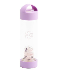LIFESTYLE PRODUCTS Wellness Crystals Water Bottle