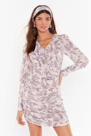 Nasty Gal Womens Cream Plant Stay Away Floral Mini
