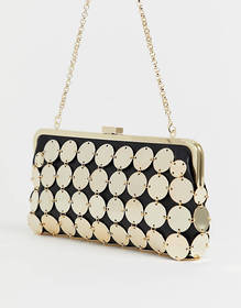 ASOS EDITION disc chain bag