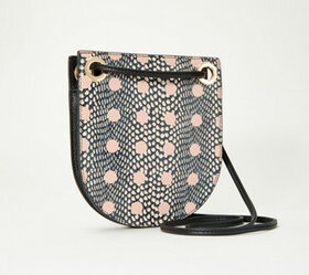 """""""As Is"""" Vince Camuto Leather Small Crossbody - Mar"""