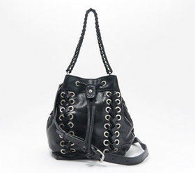 """""""As Is"""" Patricia Nash Leather Drawstring Satchel-M"""