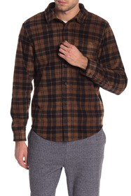 Threads 4 Thought Plaid Print Fleece Regular Fit S