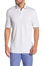 Ted Baker London Toft Geometric Print Polo