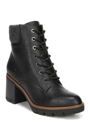 Naturalizer Madalynn Combat Boot - Wide Width Avai