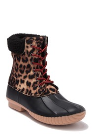 Report Ulrich Faux Shearling Trimmed Duck Boot