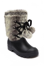 Dirty Laundry Polar Cap Faux Fur All Weather Duck
