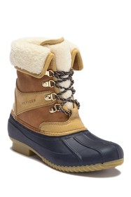 Tommy Hilfiger Rusteen Faux Shearling Lined Duck B