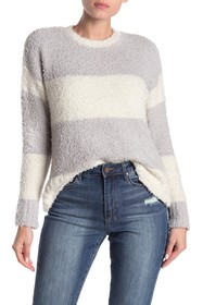 MELLODAY Rugby Stripe Pullover Sweater