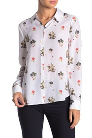 Ted Baker London Simma Floral Printed Woven Shirt