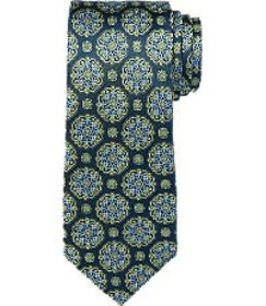 Jos Bank Reserve Collection Round Medallion Tie
