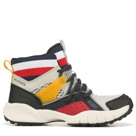 Tommy Hilfiger Kids' TH Trail Mid Hiking Boot Pre/