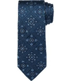 Jos Bank Reserve Collection Diamond Medallion Tie