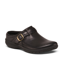 MERRELL Buckle Slip On Leather Shoes