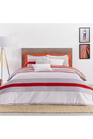 Lacoste Sirocco V 3-Piece Full/Queen Size Red Duve
