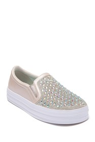 Skechers Double Up Sparkle Muse Slip-On Sneaker (T