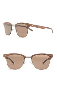 BOSS 53mm Clubmaster Sunglasses