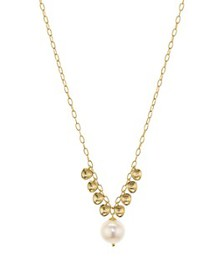 Nadri - Venice Pearl Necklace in 18K Gold-Plated S