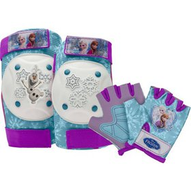 Bell Disney Frozen Protective Pad and Glove Set, P