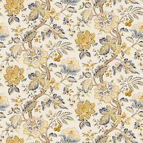 Sayer Yellow Fabric by the Yard