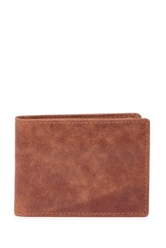 English Laundry Crunch Leather Bi-Fold Wallet