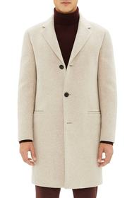 Theory Steinway Regular Fit Felted Coat