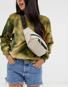 Pieces white fanny pack