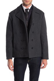 Michael Kors George Double Breasted Dickey Coat