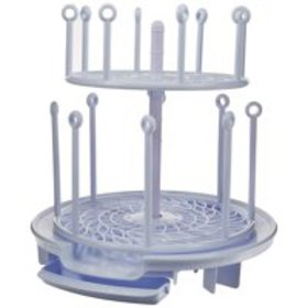 Spin Stack Drying Rack | Two Levels Save Space | D