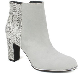 Rialto by White Mountain Mixed Material Booties- B