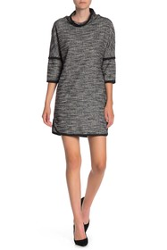 Max Studio Drop Shoulder Woven Dress