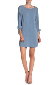 Max Studio French Terry Cocoon Dress