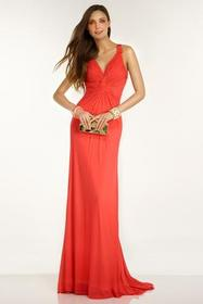 Alyce Paris - B'Dazzle - 35778 Dress in Hot Coral