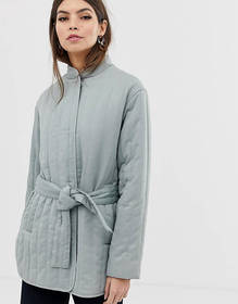 ASOS DESIGN quilted padded jacket