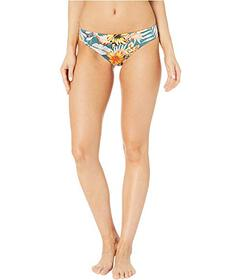 THE BIKINI LAB Tropical Oasis Cinched Back Hipster