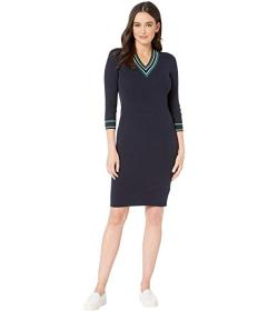 LAUREN Ralph Lauren Ribbed Sweater Dress