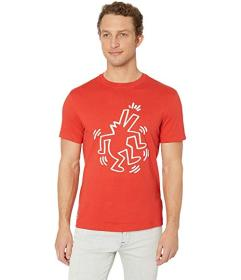 Lacoste Keith Haring Printed Jersey T-Shirt