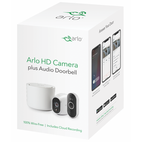 Arlo 720P HD Security Camera System with Audio Doo