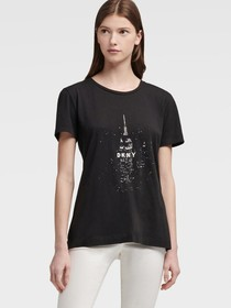 Donna Karan Empire State Building Tee