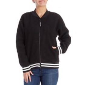 Sherpa Bomber With Logo Pull