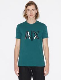 Armani SLIM-FIT PRINTED LOGO TEE