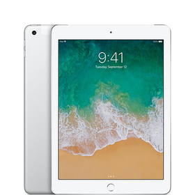 Refurbished iPad Wi-Fi + Cellular 32GB - Silver (5